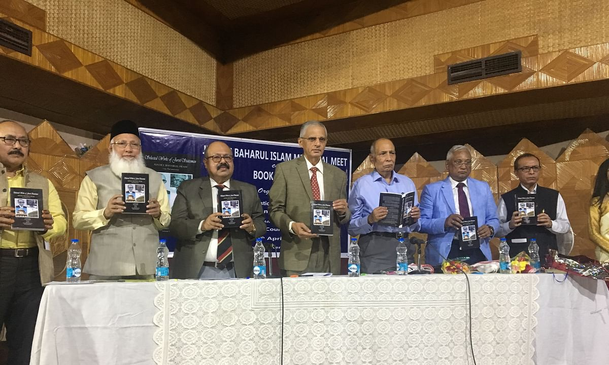 Book featuring work & life of Justice Baharul Islam launched