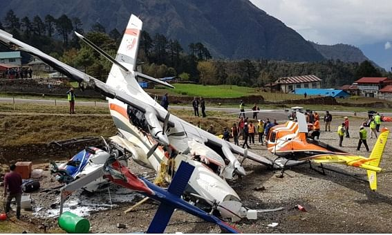Nepal: 3 killed, 4 injured in plane crash in Lukla airport