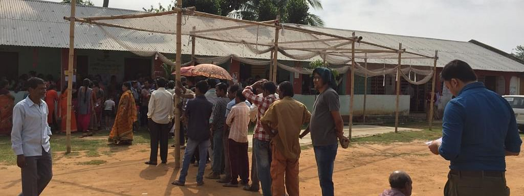 Complaints over massive rigging and booth capturing were received by the Election Commission during the first phase of Lok Sabha elections in Tripura on April 11