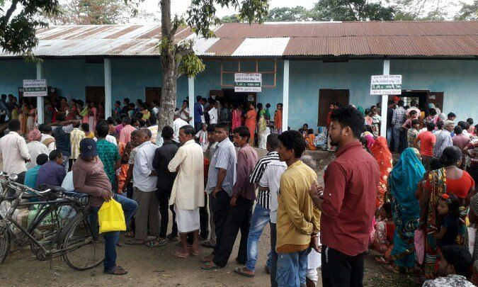 Lok Sabha polls: Voting for second phase begins at 7 am  in Assam