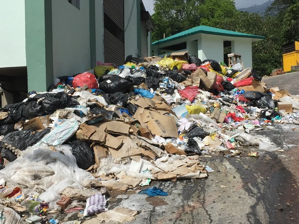 2 months after launch, waste pile-up plagues Sikkim mega hospital