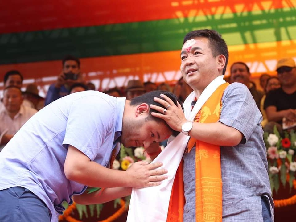 I was always connected to my people through father: Aditya Golay