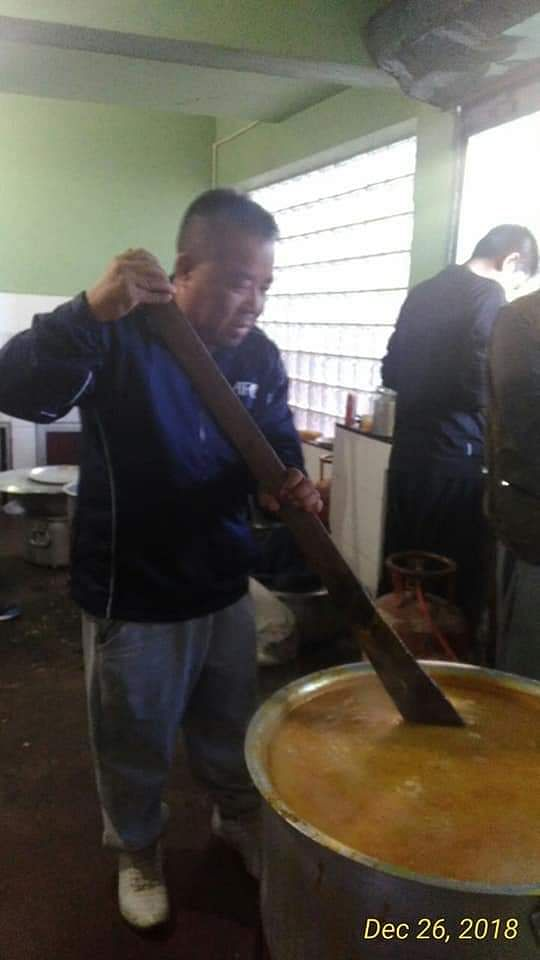 During Christmas last year, sports and tourism minister Robert Romawia Royte cooked a meal at a community event in Mizoram