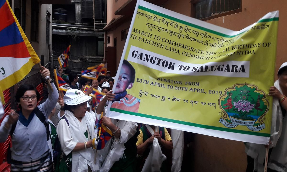 Sikkim: Peace rally to mark 30th birth anniv of 11th Panchen Lama