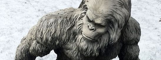 "Yeti, known to the West as <i>""Abominable Snowman""</i> , has fascinated the world for hundreds of years."