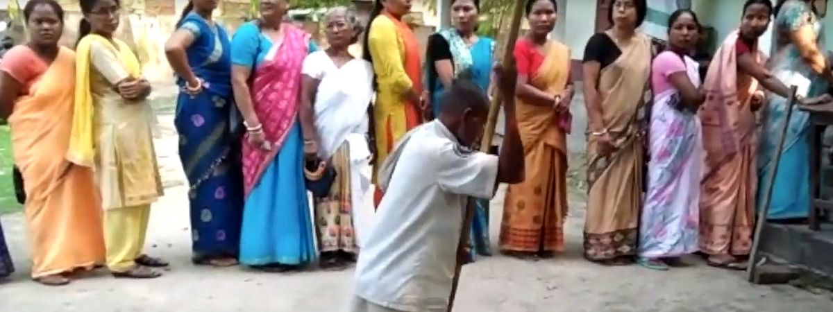 A PwD voter