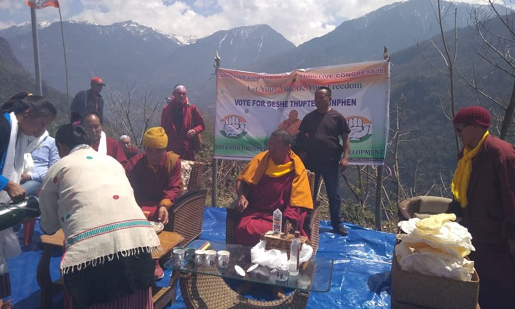 The monks who are trying to rewrite election history in Arunachal
