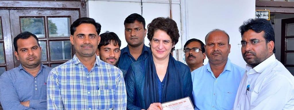 Priyanka Vadra Gandhi slated to make her maiden visit to Assam, will attend a road show in Silchar on Sunday.
