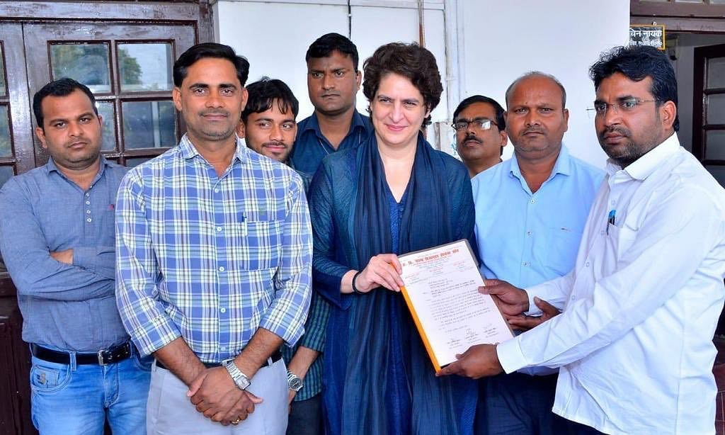 Priyanka Gandhi to be in Assam tomorrow on maiden campaign visit