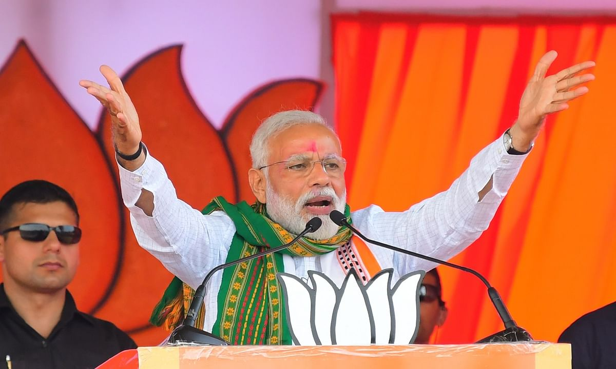 Modi wave sweeps Northeast as BJP bags 14 seats out of 25