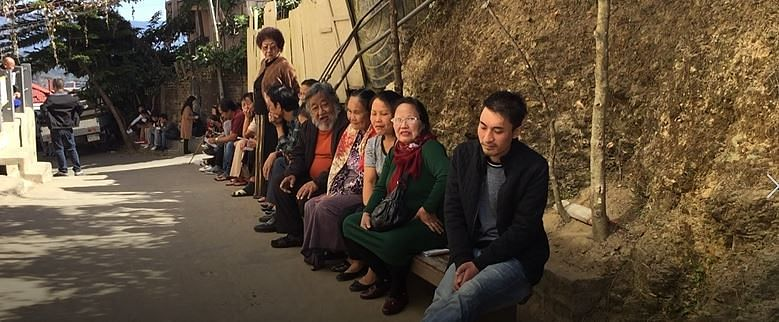 Even during the 2018 Mizoram elections, one could see voters being provided with seating arrangements while they waited for their turn to cast their votes