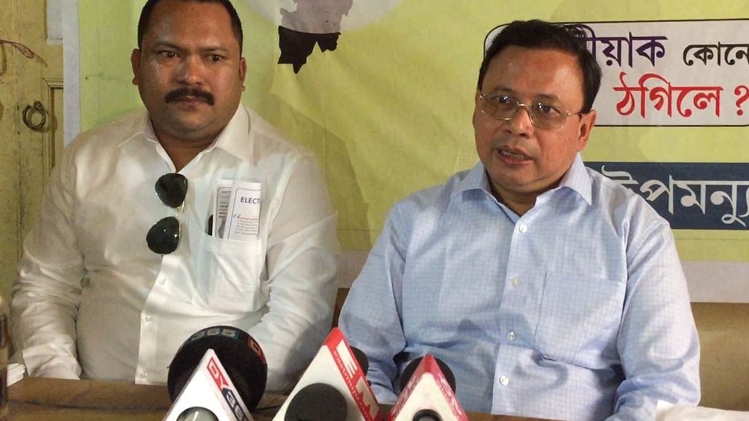 Independent candidate from Guwahati threatens to knock on EC door