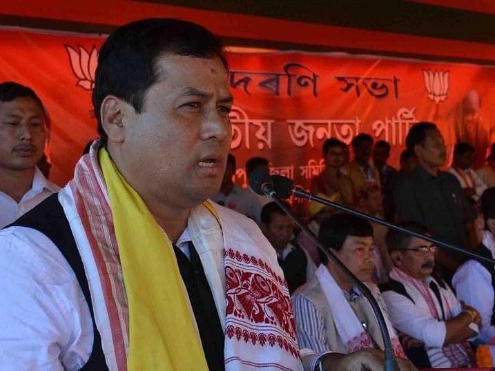 Sonowal takes a dig at 'Congress-AIUDF alliance'