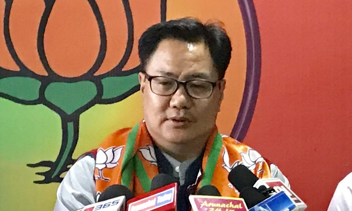 Only ex-CM Nabam Tuki can give me a tough fight: Kiren Rijiju