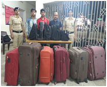 Three persons were recently held in a special operation in Katihar