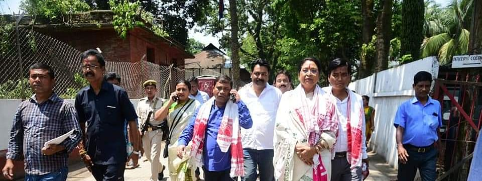 Queen Oja is the BJP's candidate from Gauhati Lok Sabha constituency