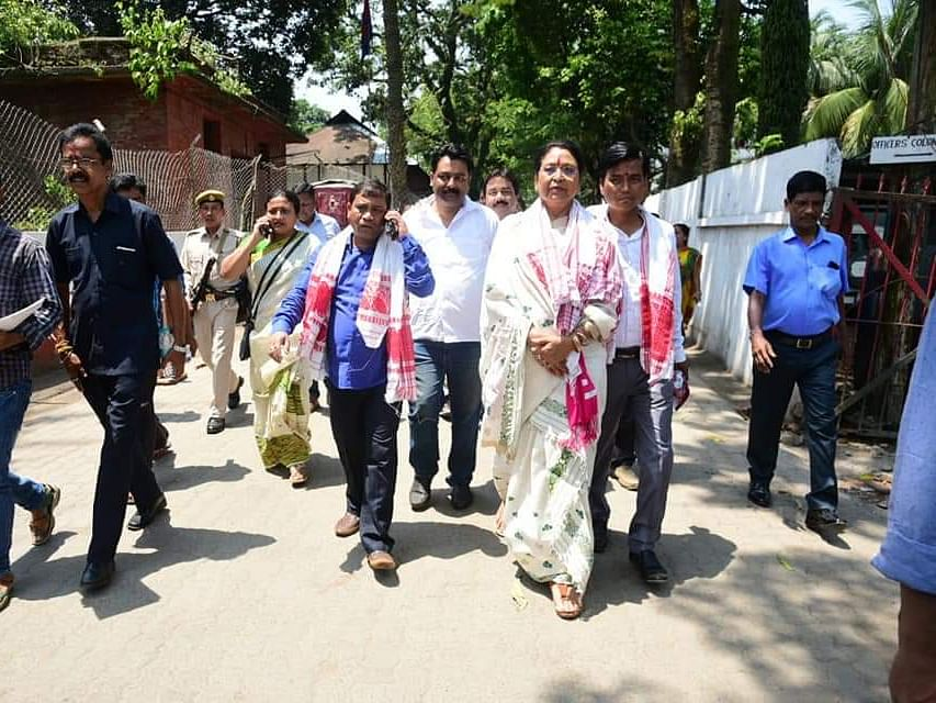 Development is need of hour: BJP's Guwahati candidate Queen Oja