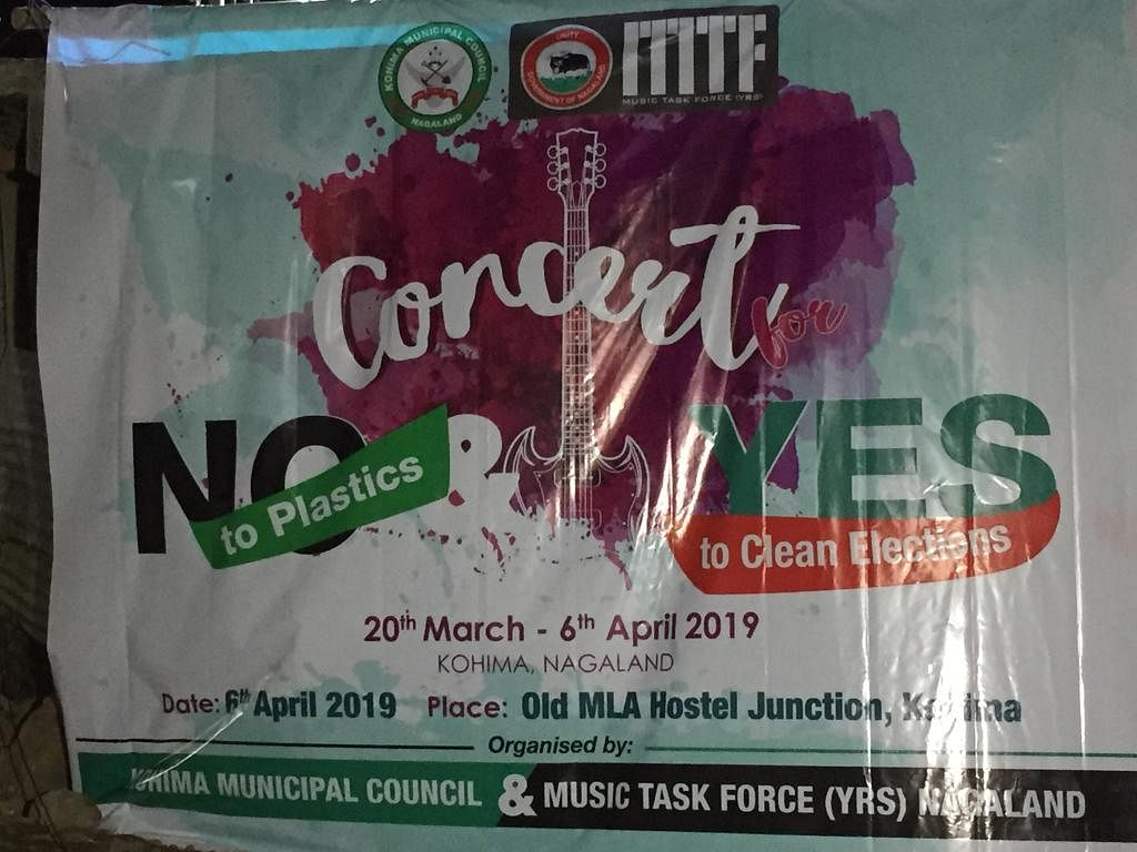 A two-week-long musical concert campaign titled, 'No to plastics, Yes to Clean Elections' concluded on Saturday