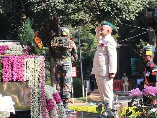 BD Mishra urged  officers to create bonhomie with the civilian population, wherever they are posted, particularly when deployed in international borders