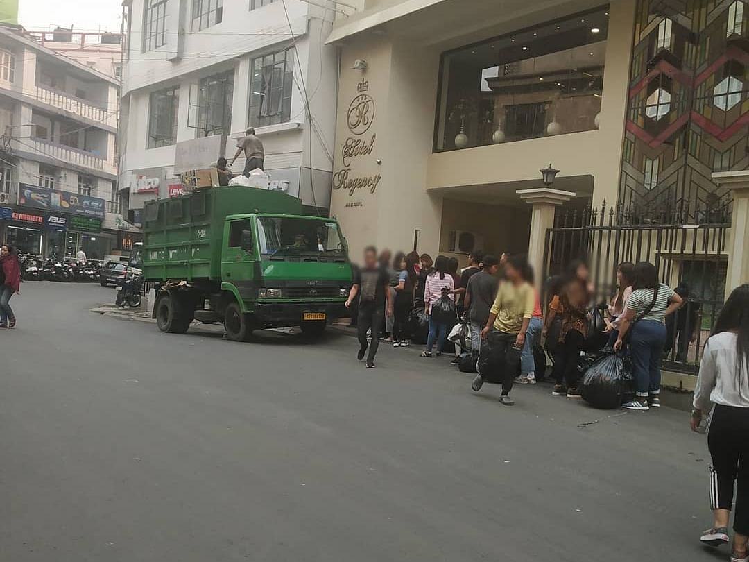 Standing in queue for garbage truck! Why we love Mizoram so much