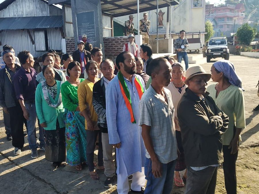 Nagaland Dy CM Patton accused of poll code violation