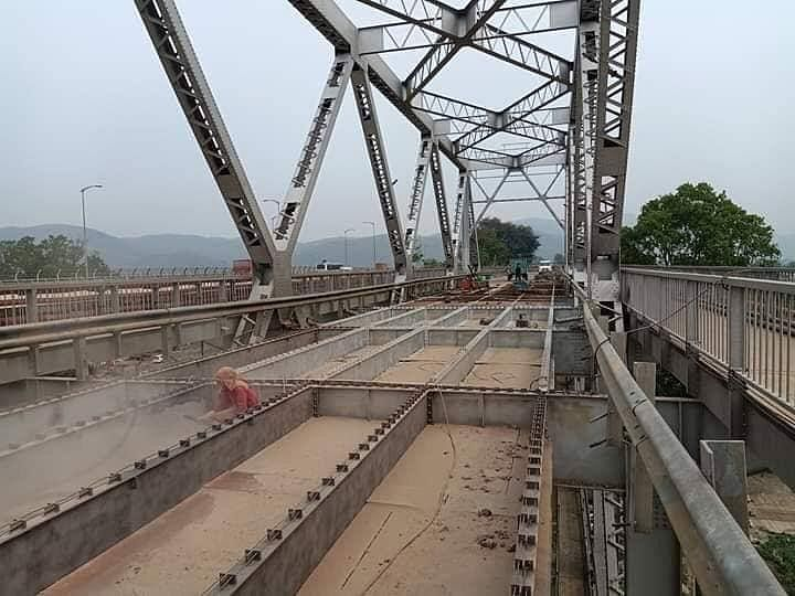 The Saraighat Bridge was commissioned in 1963