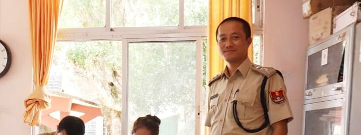 Beimosia Lapi, a sub-divisional police officer (SDPO) in Mizoram police, is posted in Mizoram's southern-most Lawngtlai district
