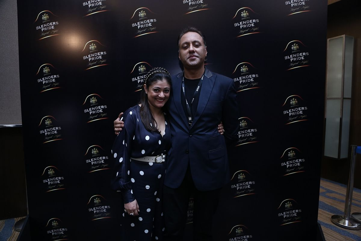 Designers Pallavi Mohan and Varun Bahl at Blenders Pride Magical Nights 2019 in Guwahati, Assam on Friday