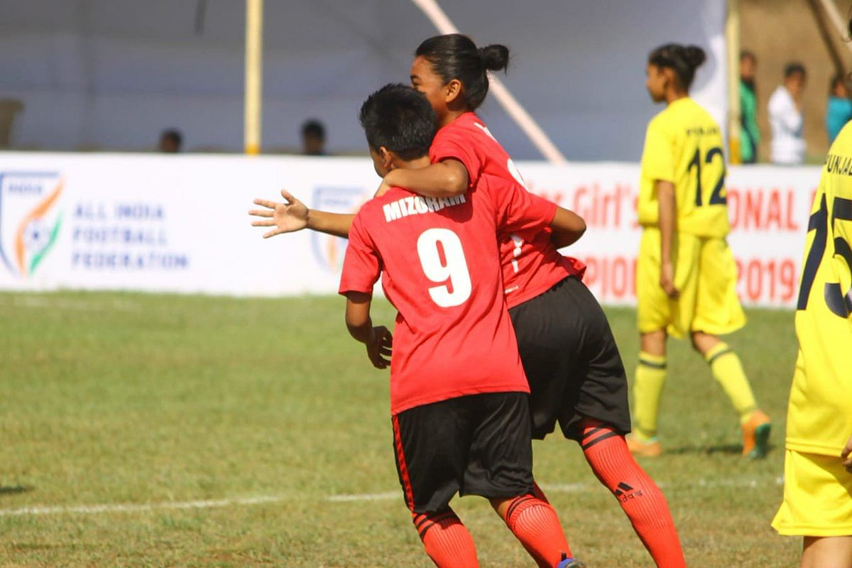 Mizoram has entered the next round of the tournament being held in Kolhapur, Maharashtra
