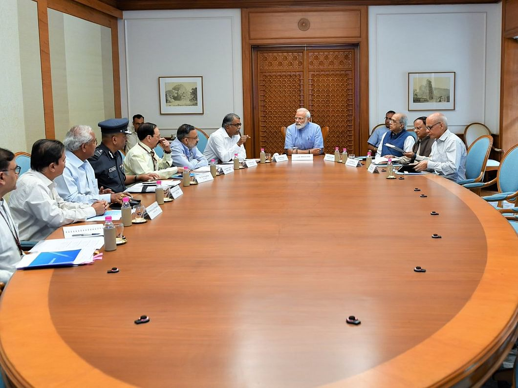 Cyclone Fani: PM Modi reviews preparedness in high-level meeting