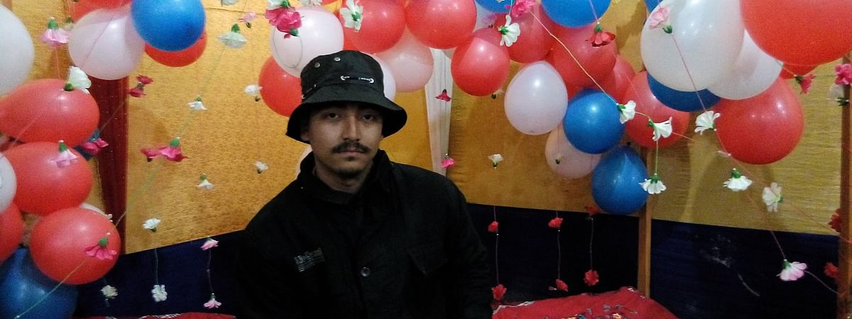 Suspected ULFA(I) linkman Indra Mohan Bora who was detained by the police on Friday