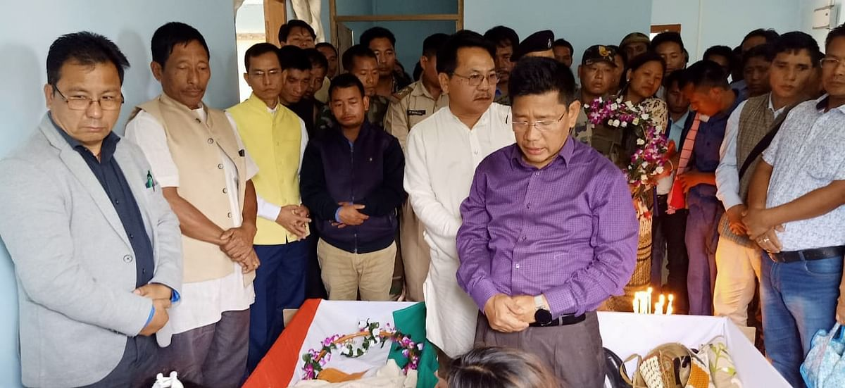 Honours were also extended by the district administration officials to the departed souls