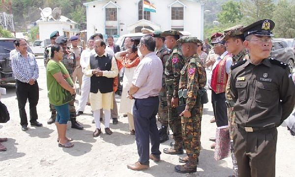 Maintain strict vigil along international borders: Mizoram guv