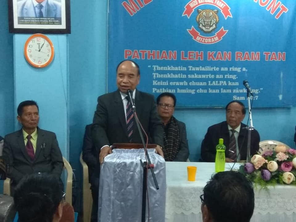 Mizoram: MNF celebrates win, CM Zoramthanga slams Cong as outsider
