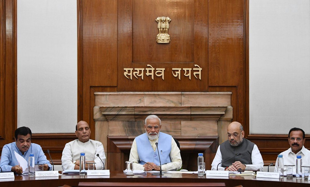 Modi Cabinet 2.0's first meeting