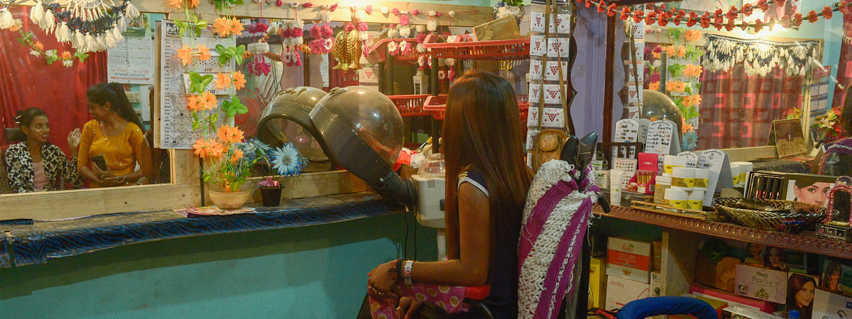Jyoti Saikia (name changed on request) runs a flourishing hair and make-up business from her parlour in Mirza, where she's training more than 40 young women. After walking out of her six-month-long marriage, where she suffered under the pressure of dowry demand from her husband, she aims to become a big businesswoman