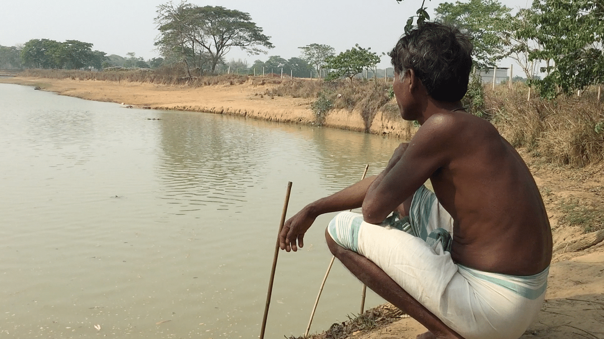 Villagers, who hold dolphins in high esteem, rued with heavy heart that sighting of the mammal in the river has become a rarity since last year