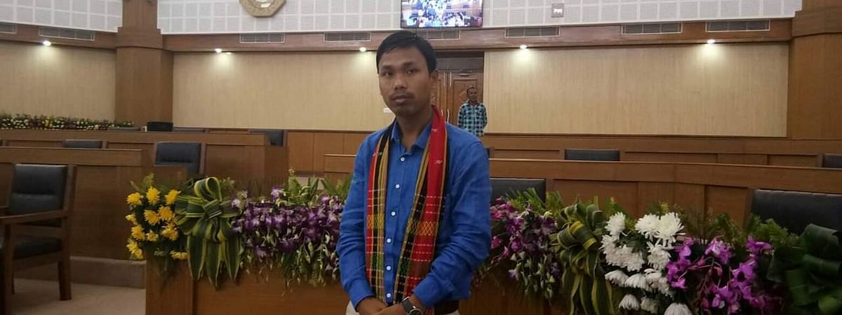 Dhananjoy Tripura is a sitting MLA from the Raima Valley constituency of Tripura's Dhalai district