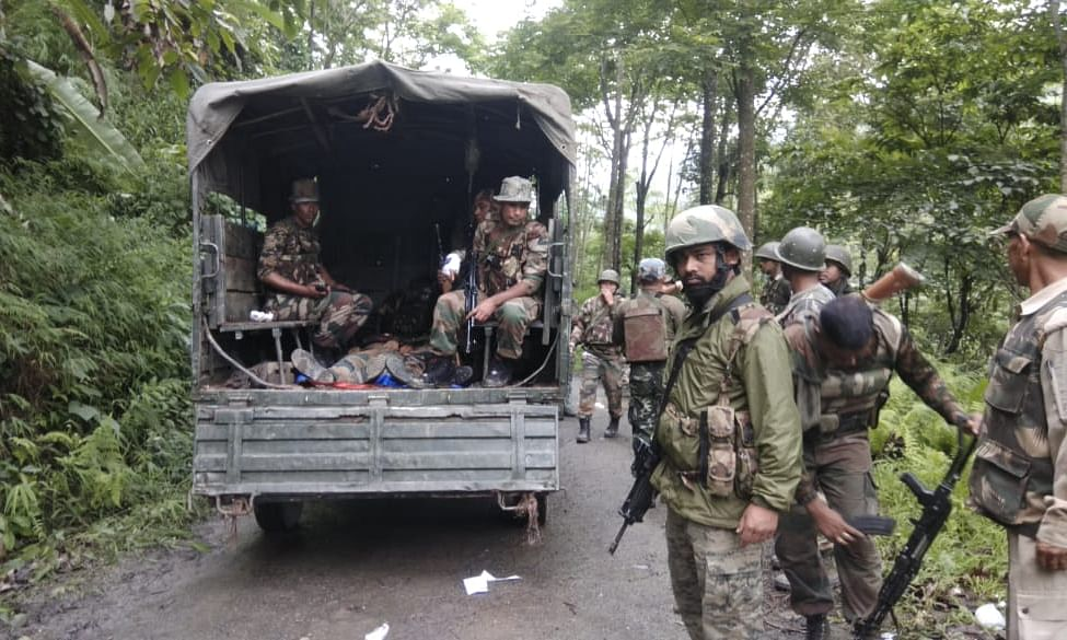 2 Assam Rifles jawans killed in encounter in Nagaland, 4 hurt