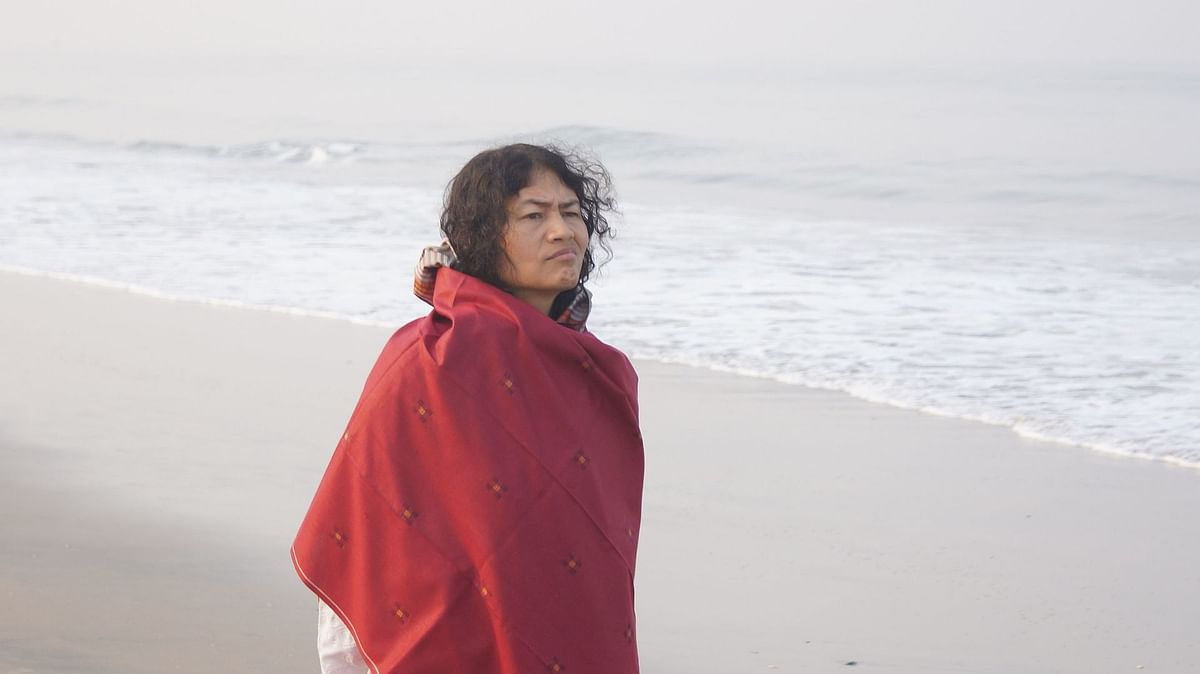 Irom Chanu Sharmila was blessed with twin girls on Mather's Day