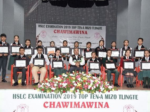 Mizoram: MZP felicitates Class X board exam toppers