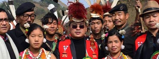 Some insurgent groups are suspected to be behind the attack on Khonsa West MLA Tirong Aboh (centre) on May 21