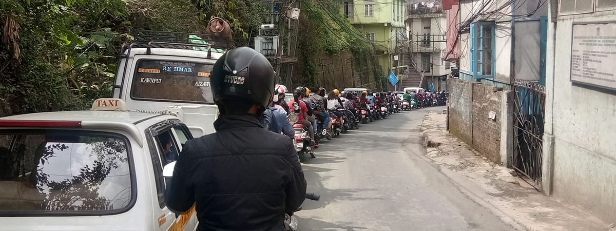 The new set of rules is expected to take vehicles off the roads by as much as 20% in capital Aizawl