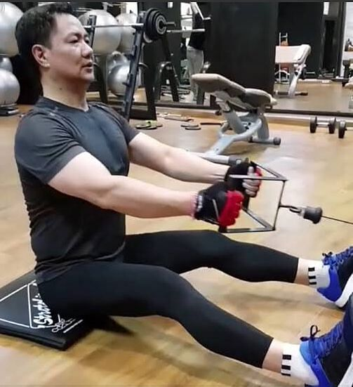 Kiren Rijiju is known to be a fitness enthusiast