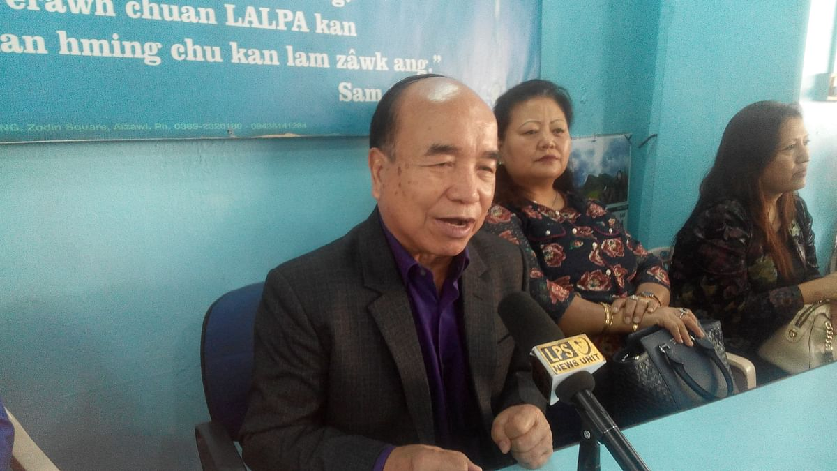 People are fully satisfied with us: Mizoram CM on election results