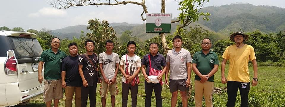 A delegation of MZP, headed by its president L Ramdinliana Renthlei, visited the Zophai area recently