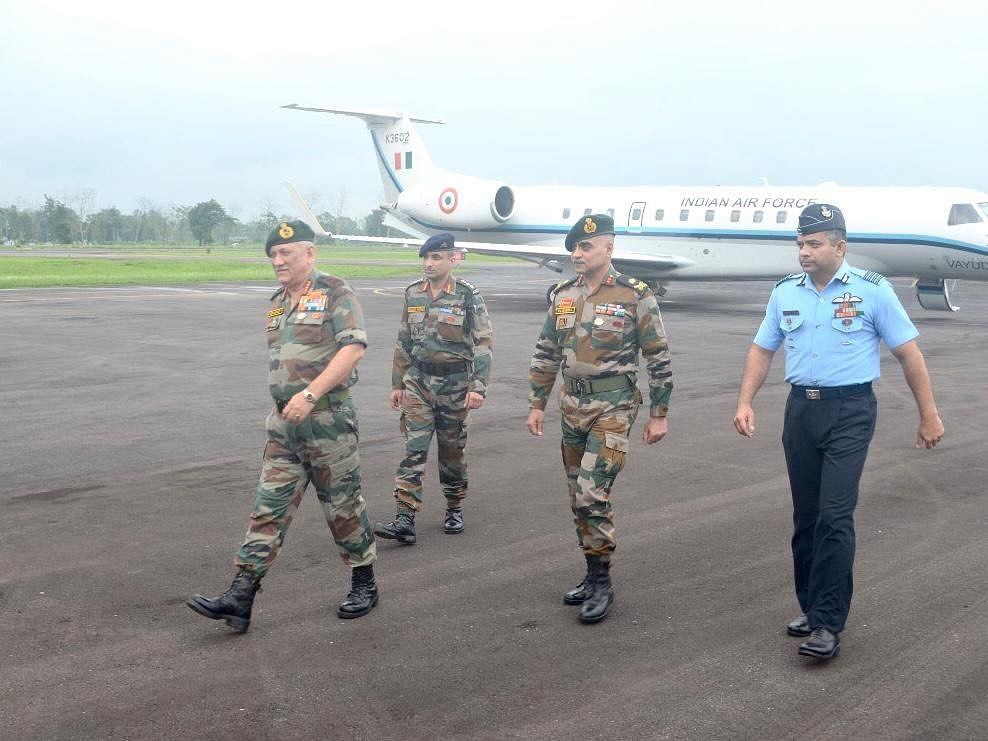 General Bipin Rawat reviews security situation in Assam, Arunachal