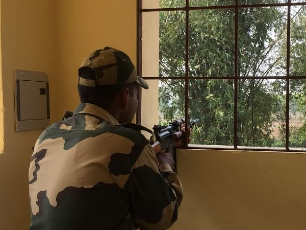 BSF official kills self with service rifle in Tripura