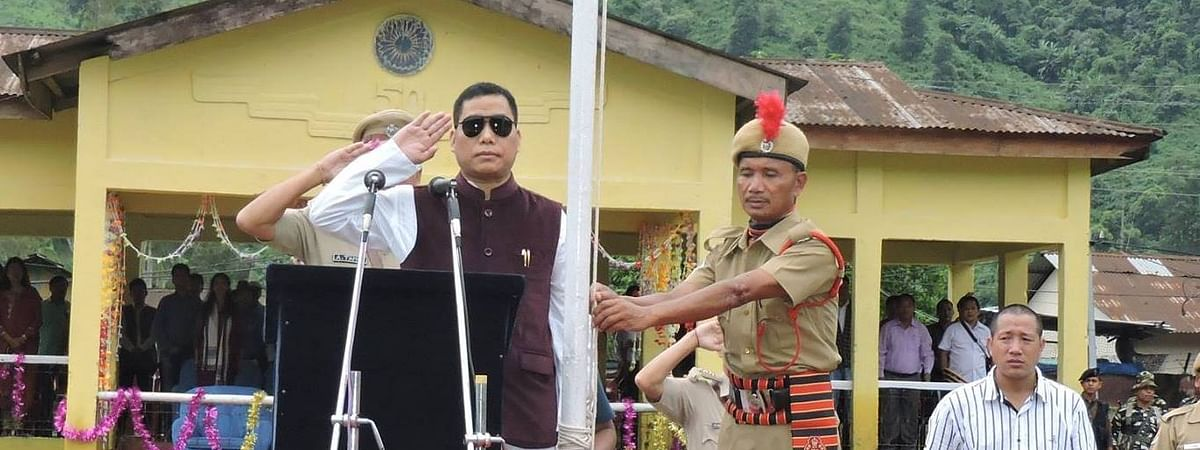 Tapuk Taku of the National People's Party, who won the Seppa East Assembly constituency in Arunachal Pradesh