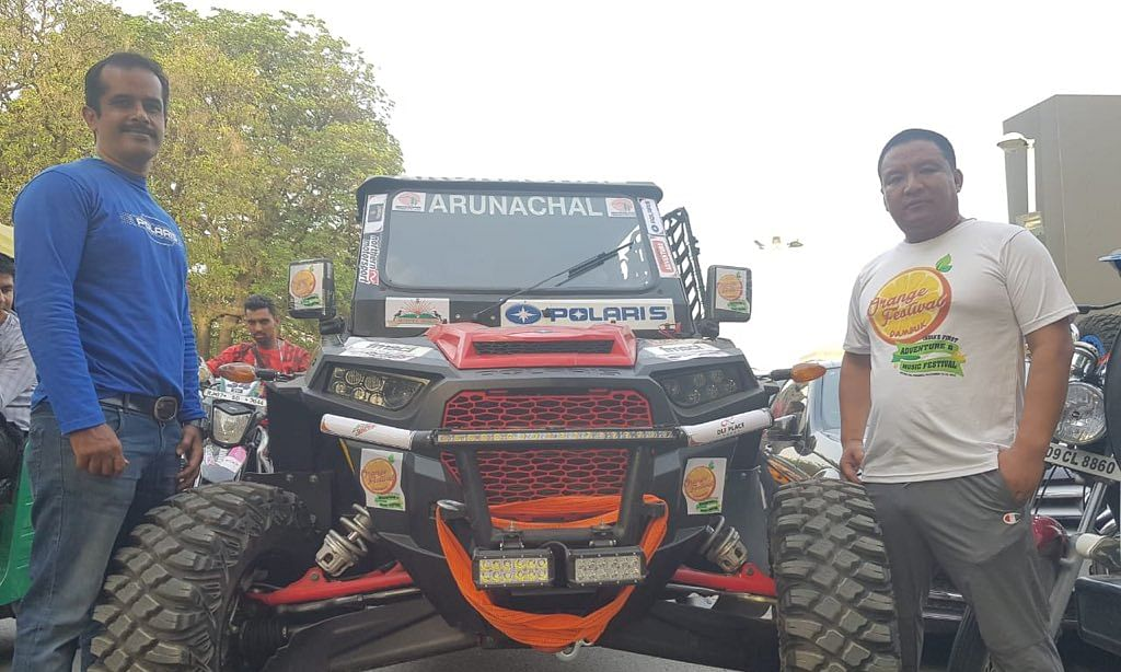 Lhakpa Tsering heads 'Team Arunachal' at Desert Storm 2019